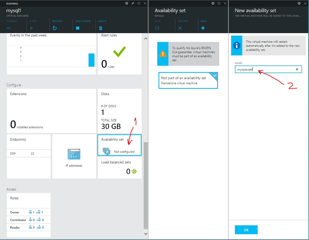 Configure Availability Set