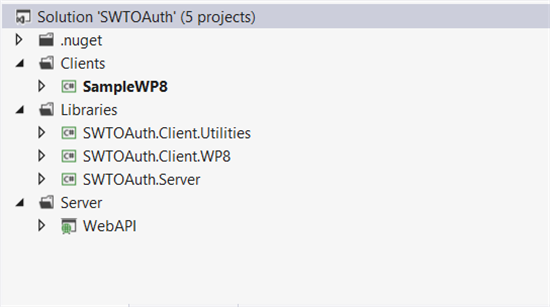 Part 1: Protecting an ASP net Web API hosted on Azure with OAuth