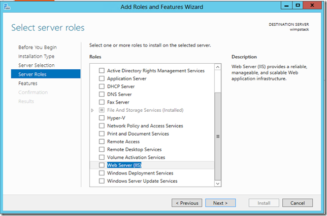 Creating a WIMP Stack (Windows Server, IIS, MySQL, PHP) on Windows Azure